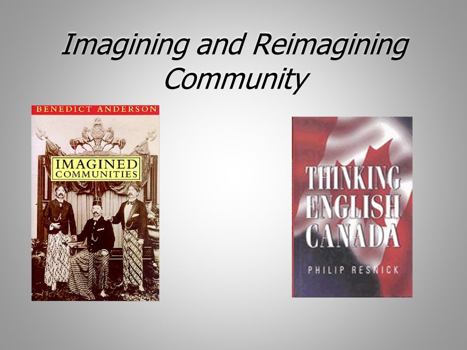 Reimagining Community Together We must engage students as co-authors of the imagined nation.