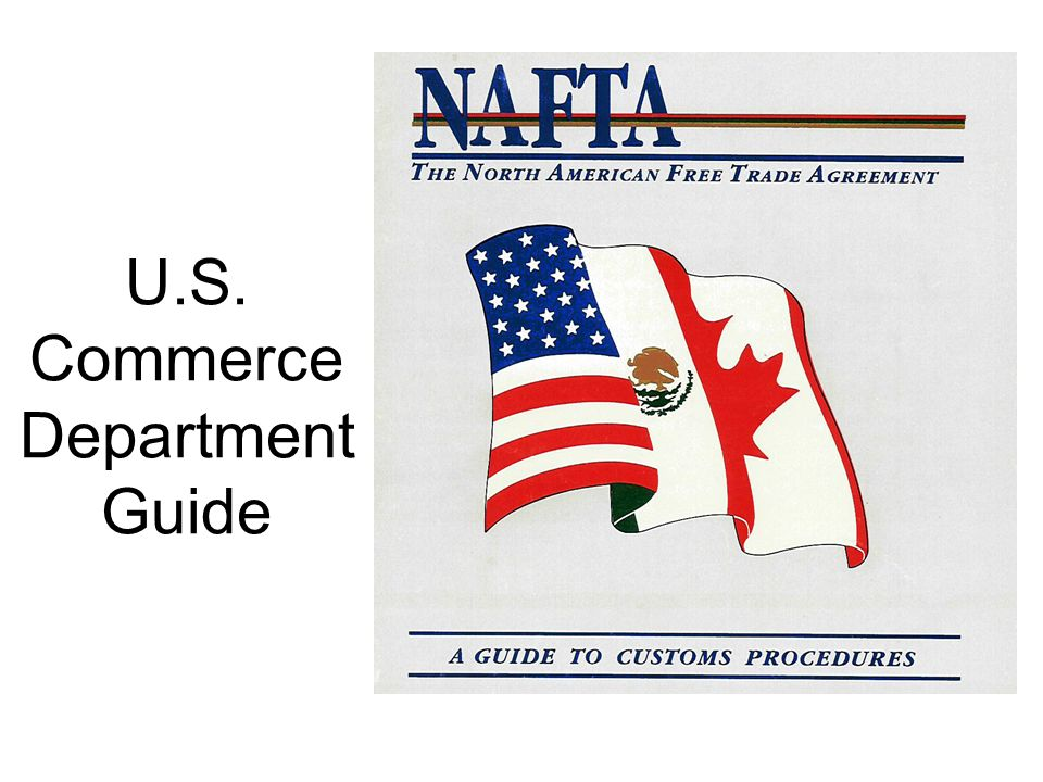 U.S. Commerce Department Guide