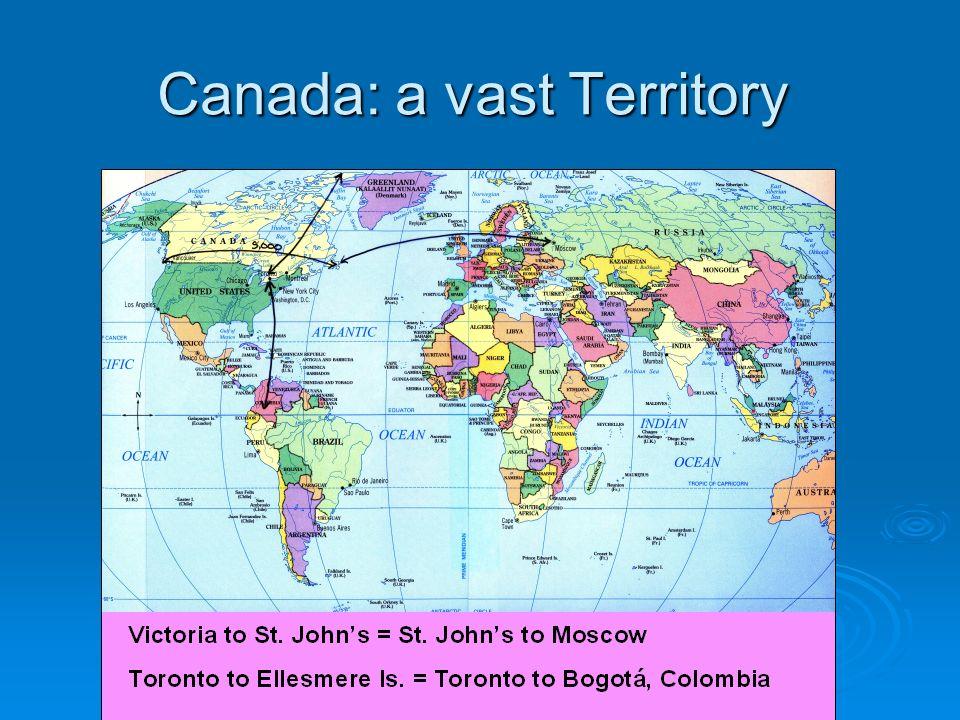 Canada: a vast Territory