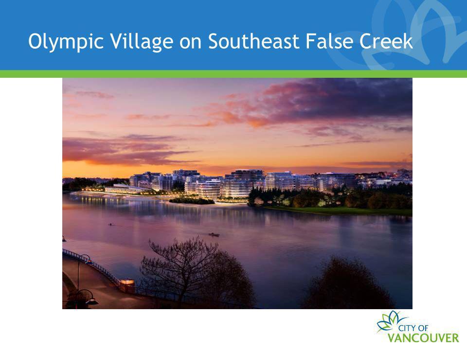 Olympic Village on Southeast False Creek