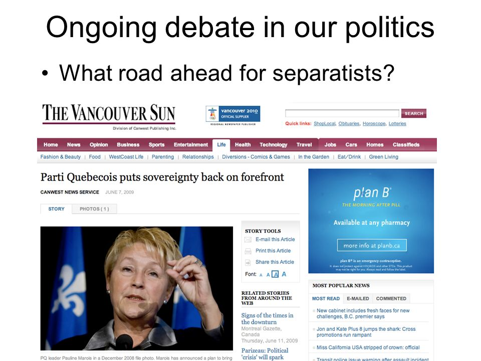 Ongoing debate in our politics What road ahead for separatists?