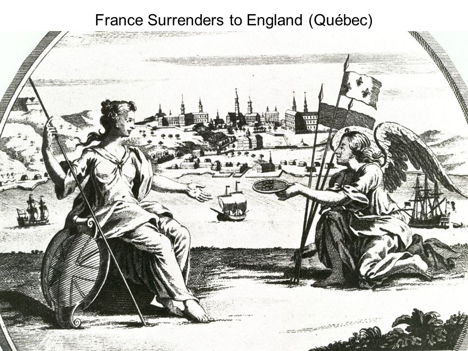 France Surrenders to England (Québec)