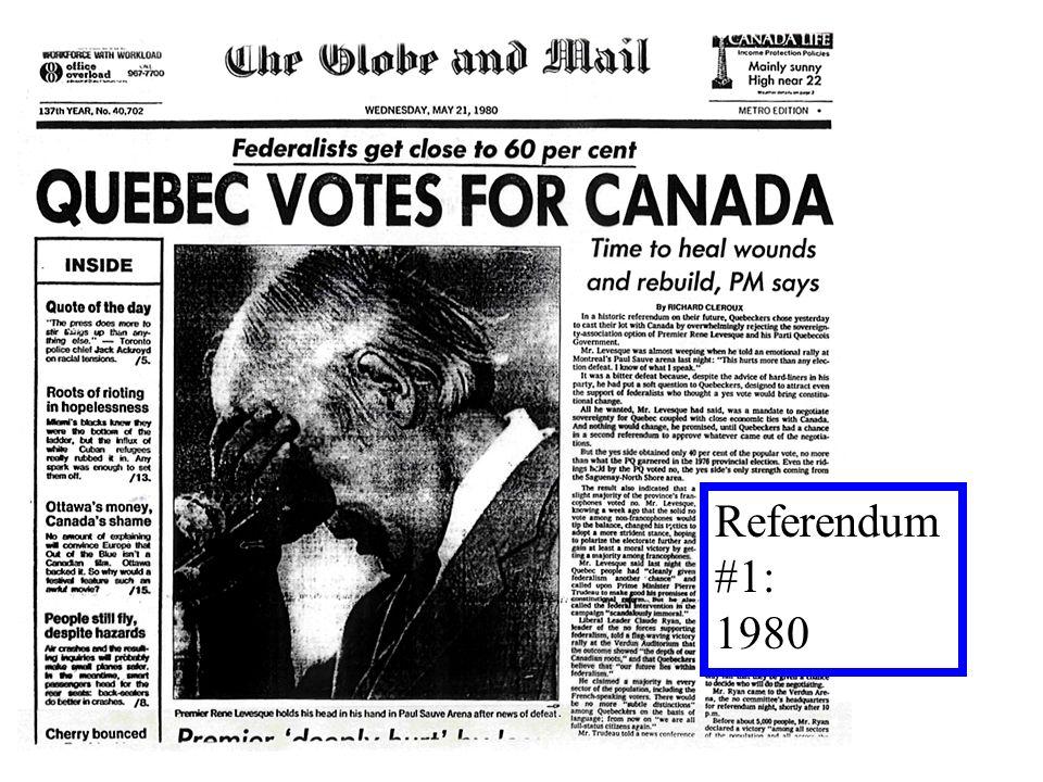 Referendum #1: 1980