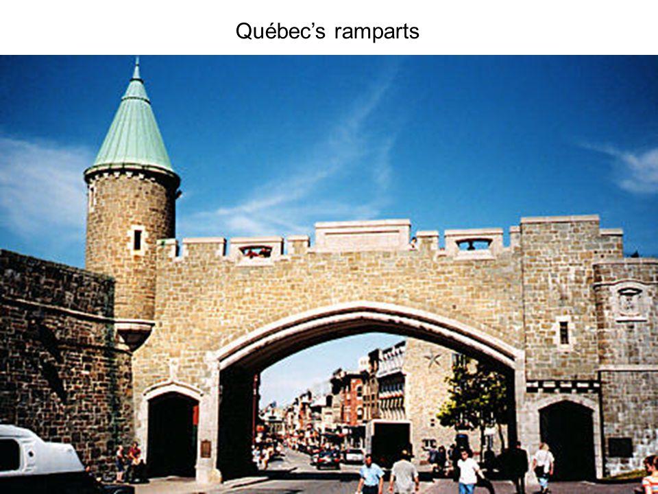 Québecs ramparts