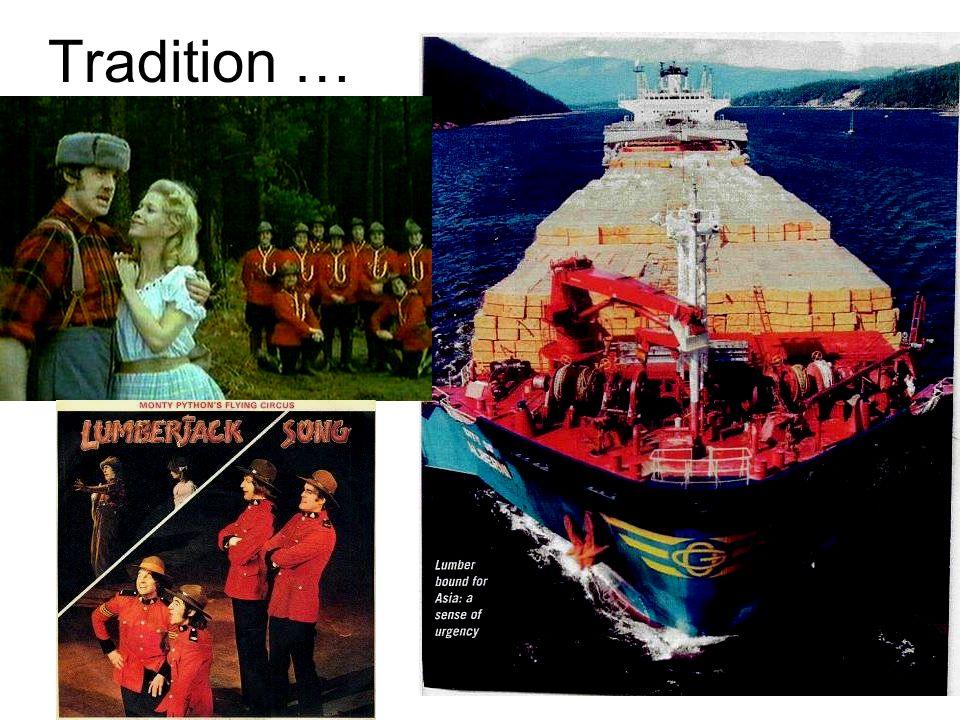 Tradition …