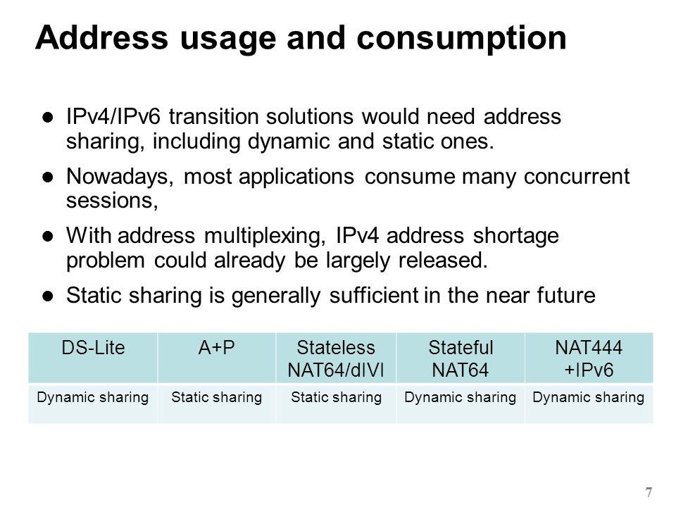 2011 User management and logging requirement 8 DS-LiteA+PStateless NAT64/dIVI Stateful NAT64 NAT444 User type: IPv6-only Add IPv6 feature Logging: Session-based User type: IPv6-only Add IPv6 feature Logging: No binding table User type: IPv6-only Add IPv6 feature Logging: No binding table User type: IPv6-only Add IPv6 feature Logging: Session-based User type: Dual-stack Add dual stack feature Logging: Session-based User management system, e.g.