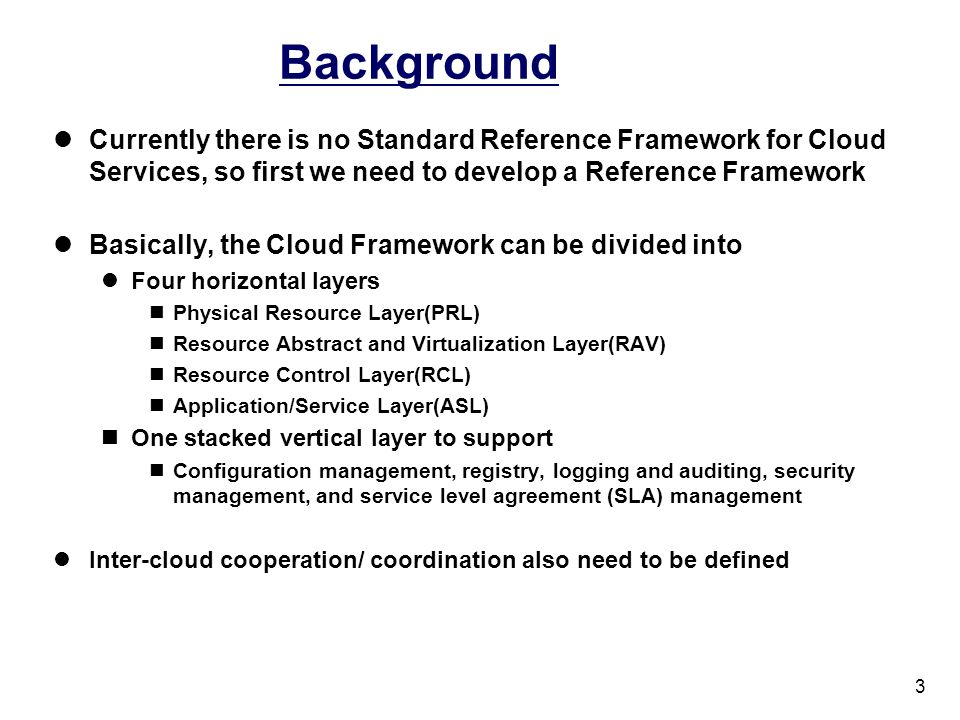 A Cloud Framework 4