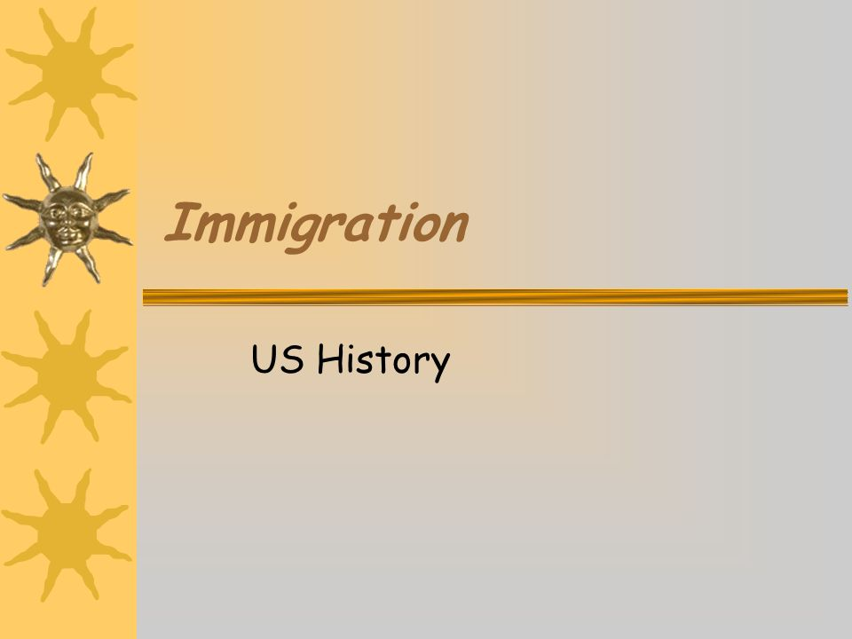 Common Characteristics of Immigration New immigrants typically flock to cities because of more jobs, housing, and services.