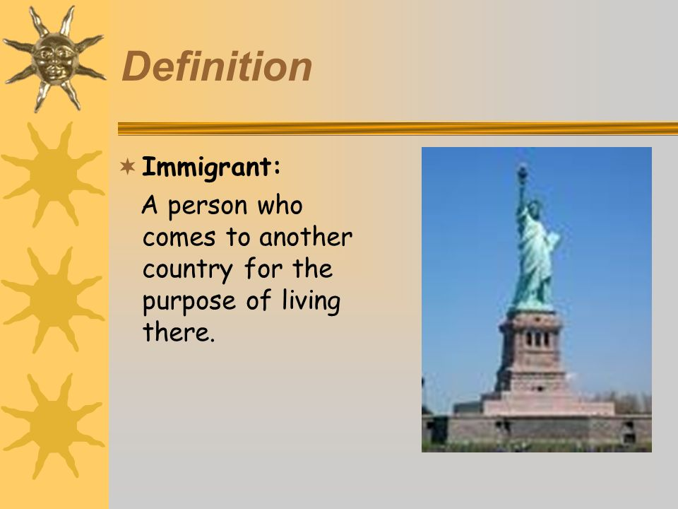 Old Immigration 1830s-1880s Most came from North and Western Europe