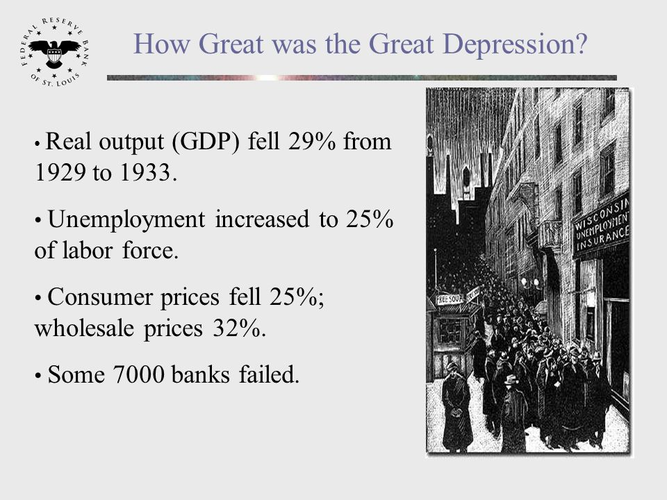 Why Did It Happen? Some Suggested Causes The stock market crash – end of the party