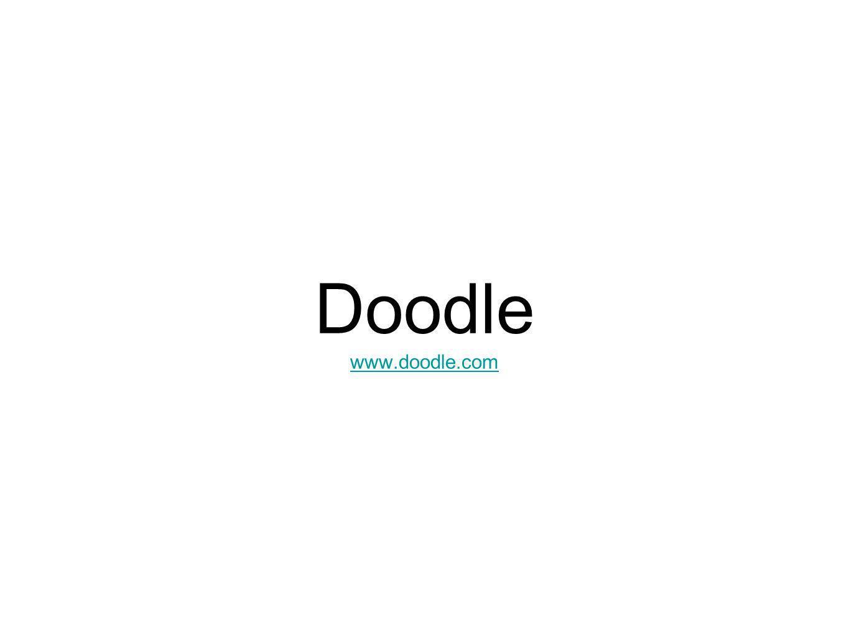 Doodle www.doodle.com www.doodle.com