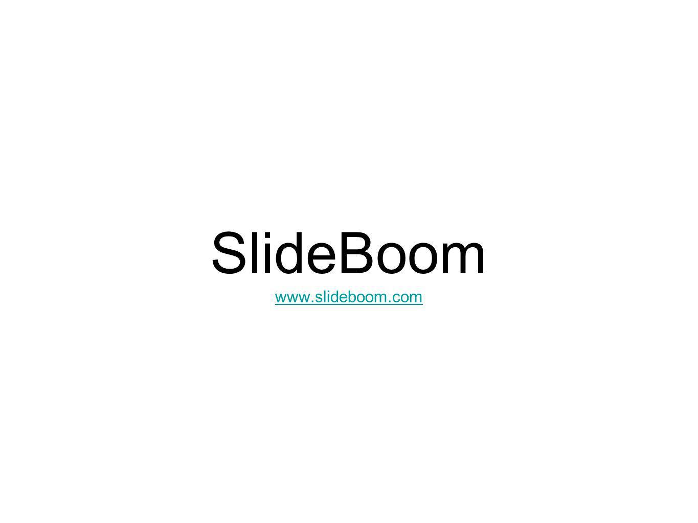 SlideBoom www.slideboom.com www.slideboom.com