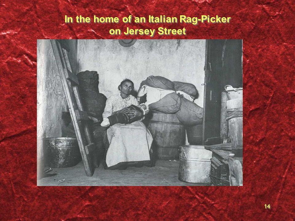 14 In the home of an Italian Rag-Picker on Jersey Street