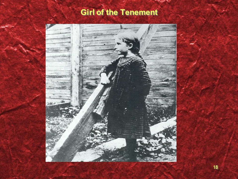 18 Girl of the Tenement