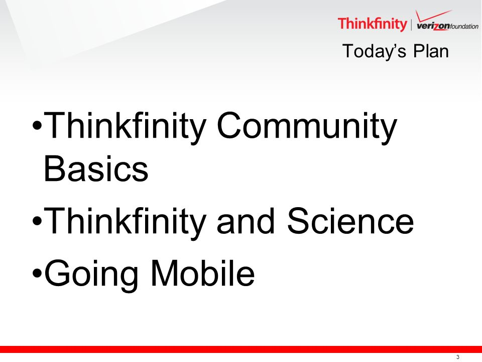 3 Todays Plan Thinkfinity Community Basics Thinkfinity and Science Going Mobile