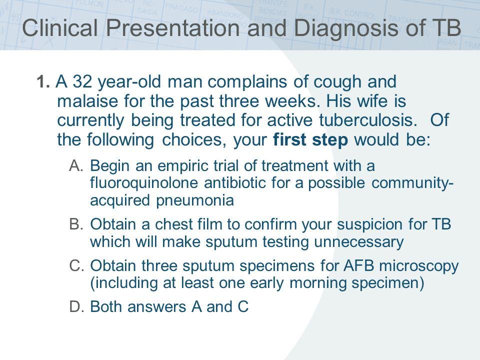 Management of Drug-resistant TB 1.