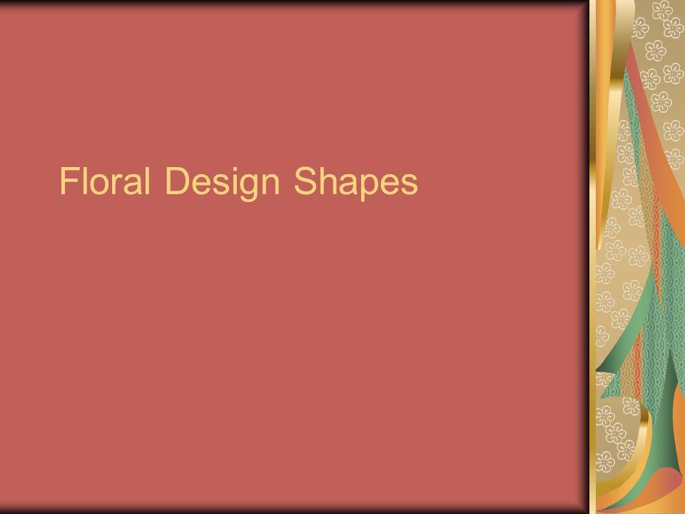 Floral Design Shapes