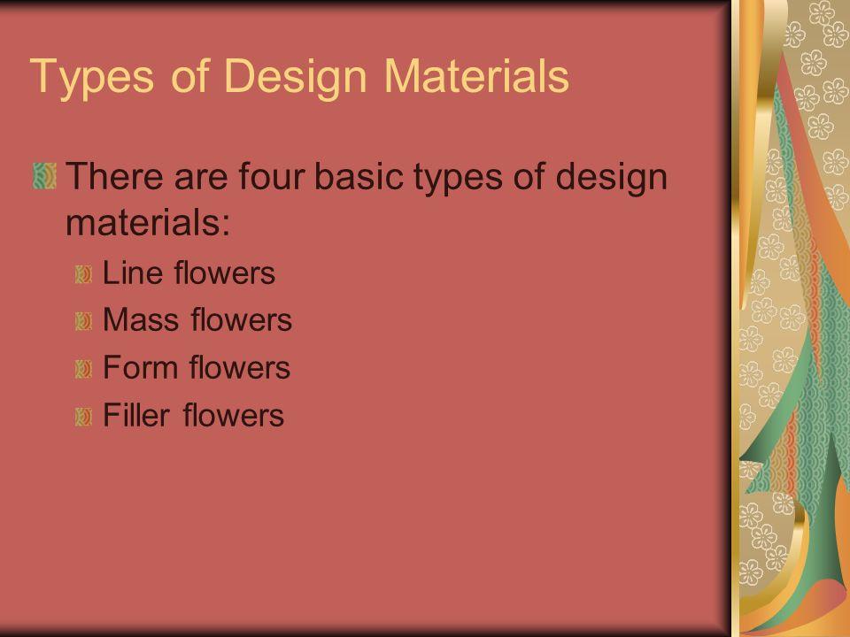 Oval Flowers make an oval shaped arrangement