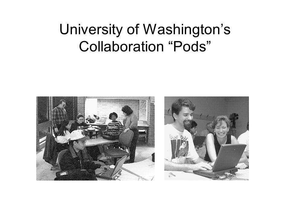 University of Washingtons Collaboration Pods