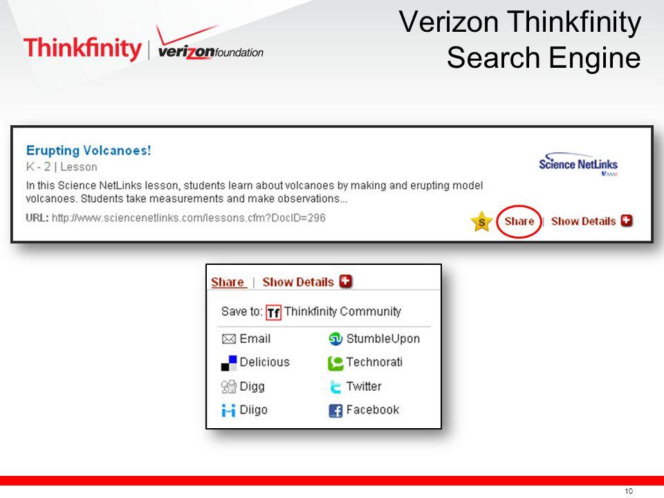 10 Verizon Thinkfinity Search Engine