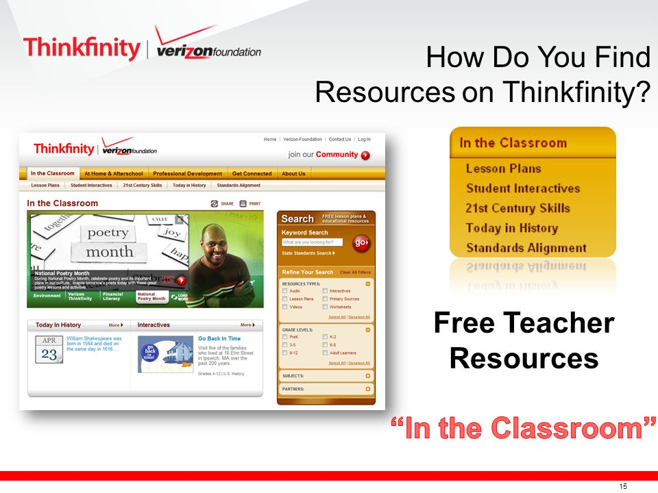 15 How Do You Find Resources on Thinkfinity