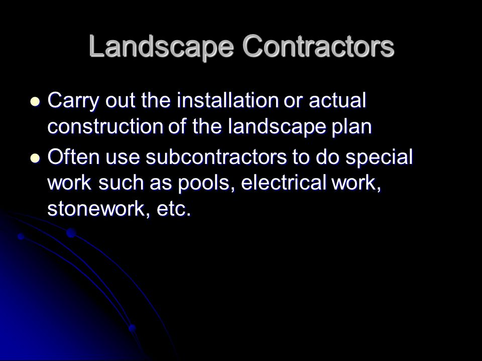 Landscape Maintenance Extended care of existing landscapes Extended care of existing landscapes The care and upkeep of the landscape after installation The care and upkeep of the landscape after installation