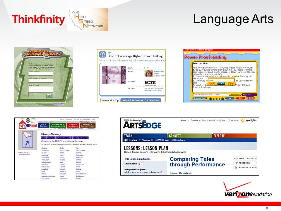 8 Language Arts