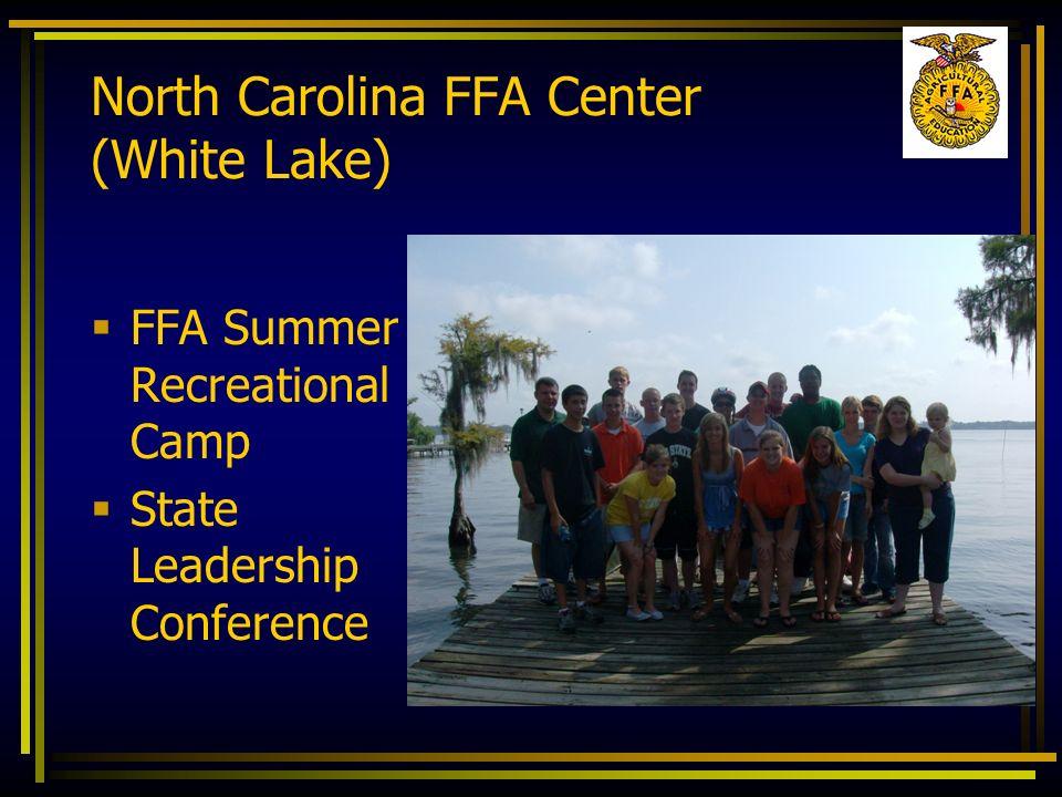 FFA Summer Recreational Camp State Leadership Conference North Carolina FFA Center (White Lake)