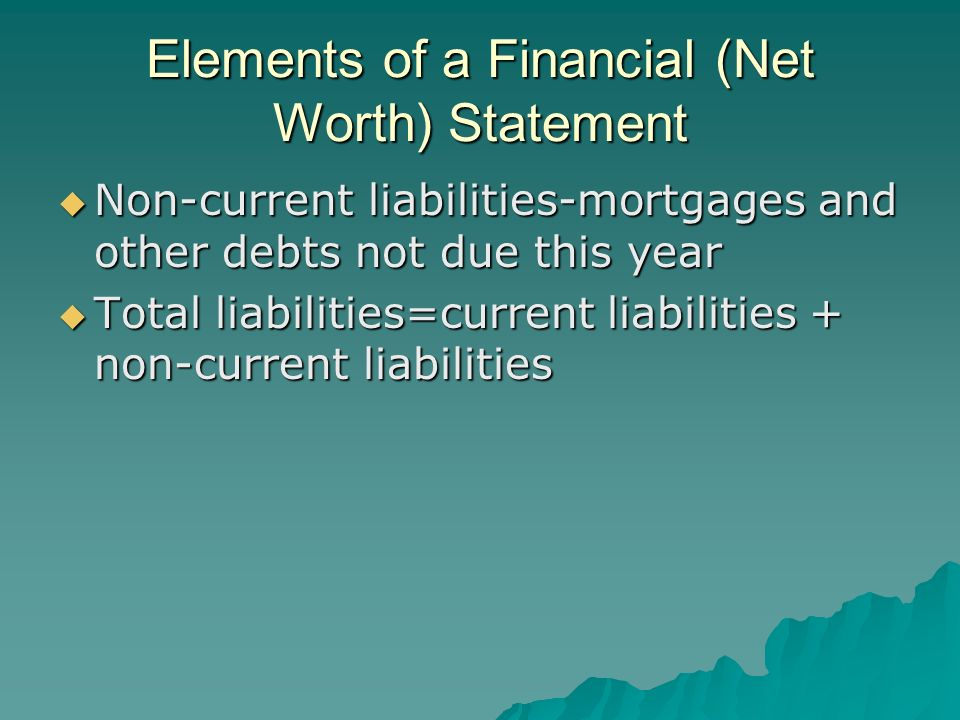 Non-current liabilities-mortgages and other debts not due this year Non-current liabilities-mortgages and other debts not due this year Total liabilit