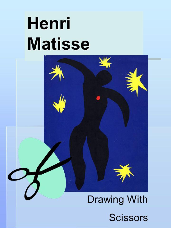 Henri Matisse Drawing With Scissors