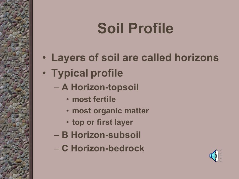 What is the physical make up of soil