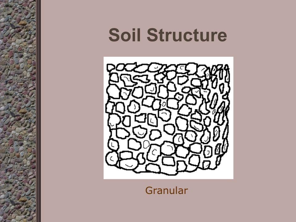 Soil Structure Single Grain