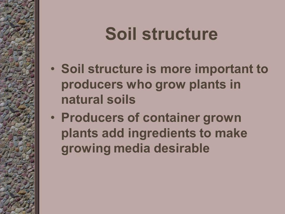 Soil Structure Massive