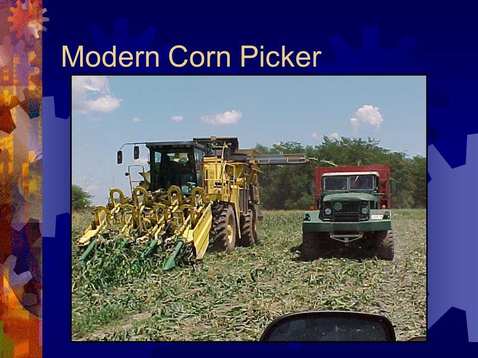 Modern Corn Picker