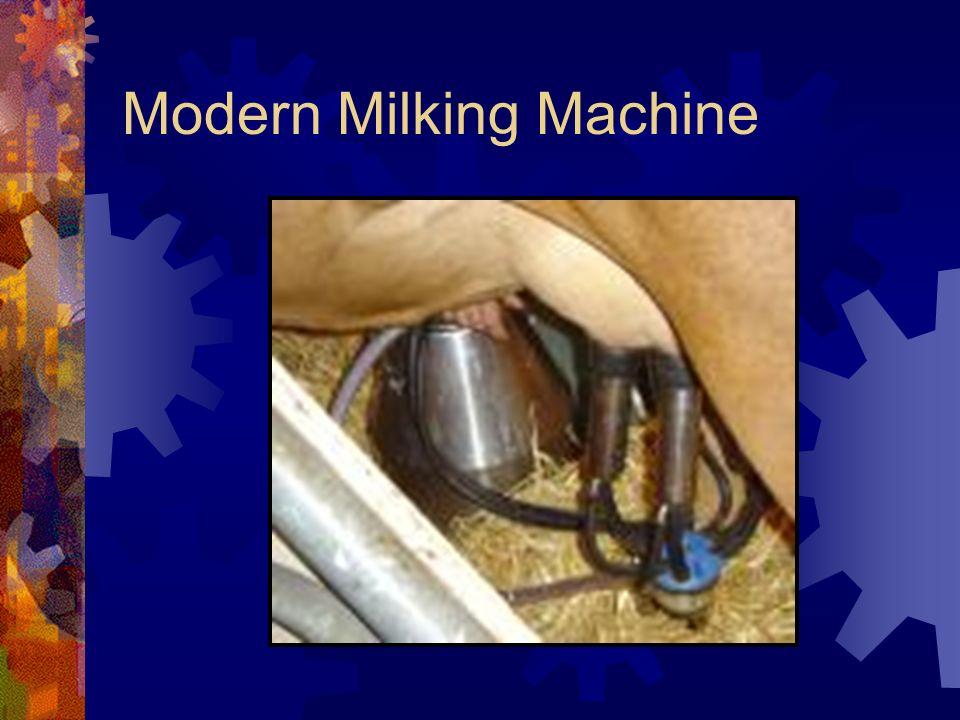 Modern Milking Machine