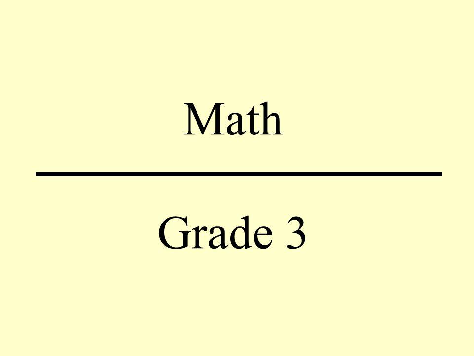 Math Grade 3