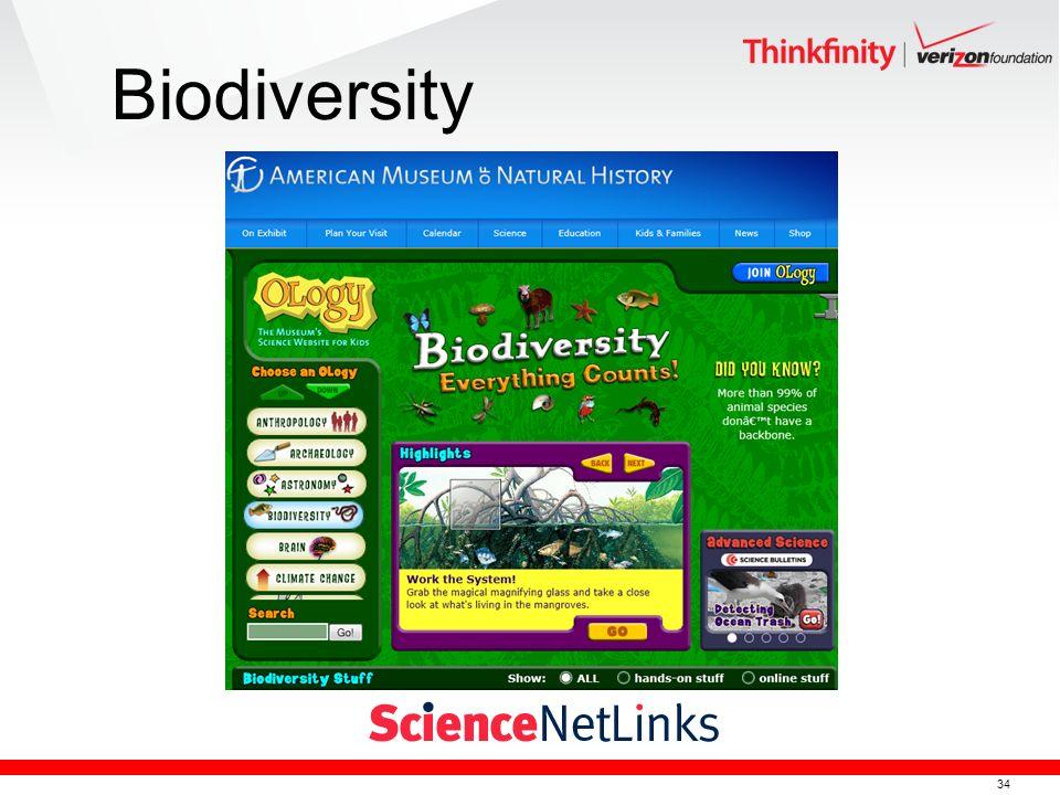 34 Biodiversity