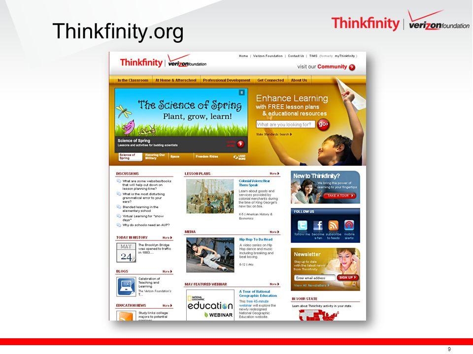 9 Thinkfinity.org