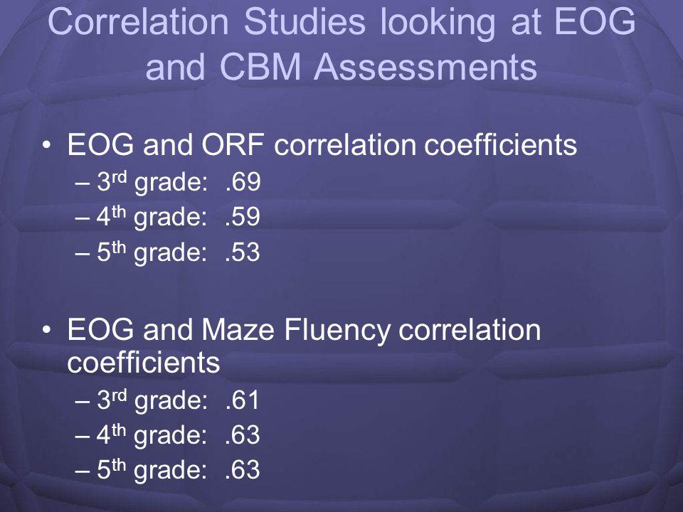 Cleveland County Schools EOG/CBM data 2007