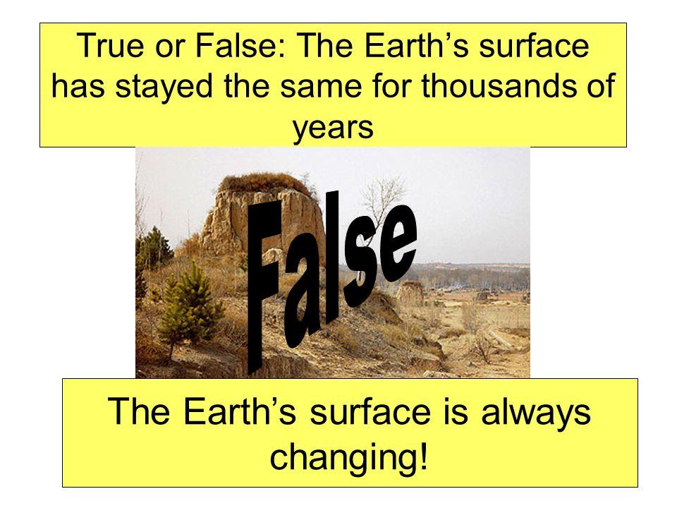 Erosion is Movement of Sediment .