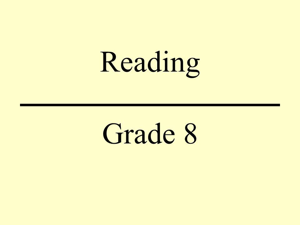 Reading Grade 8