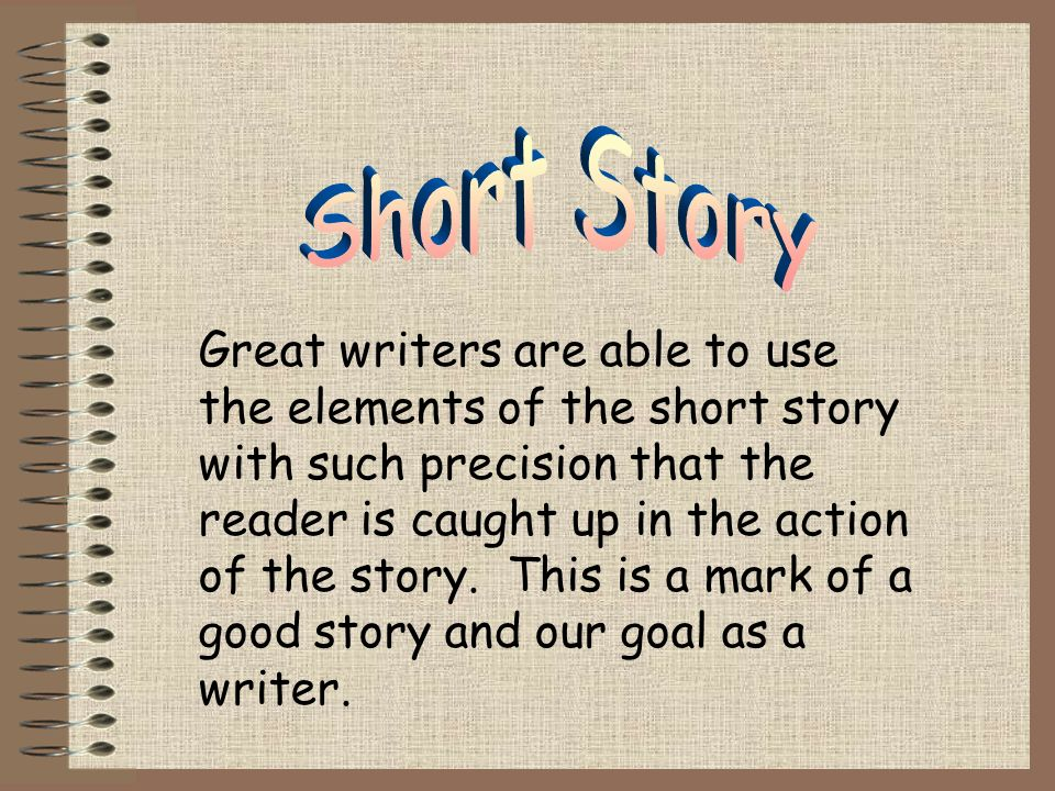 Elements of a Short Story Setting Characterization Plot Conflict Climax Resolution Theme Point of view