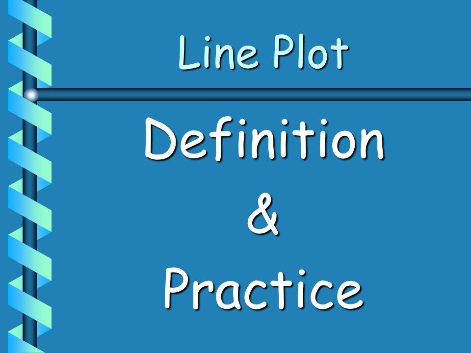 Line Plot Definition & Practice