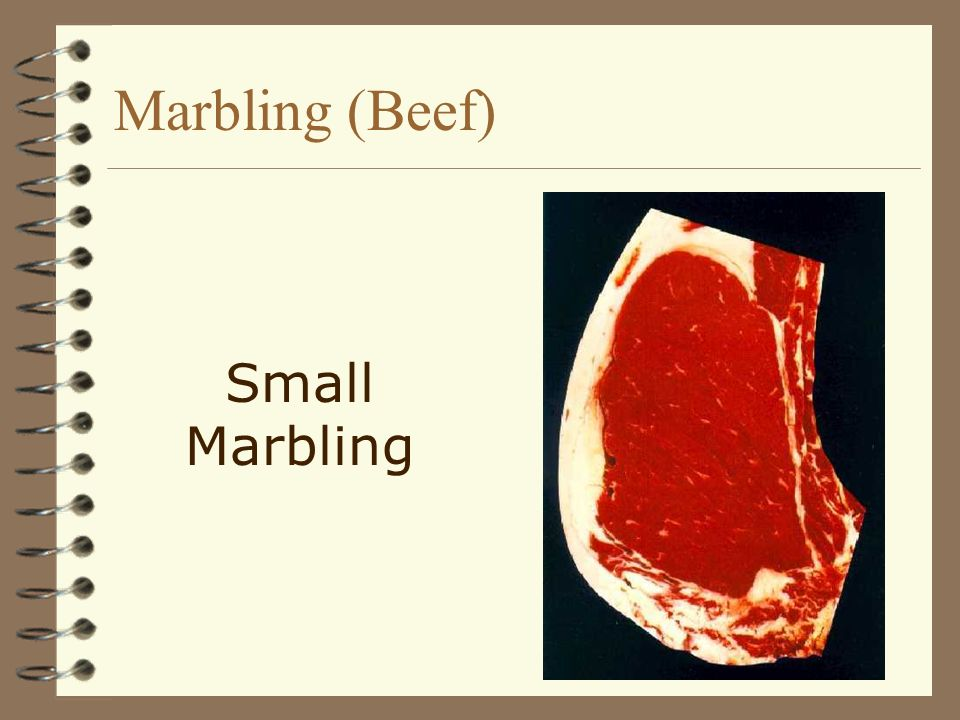 Marbling (Beef) Small Marbling
