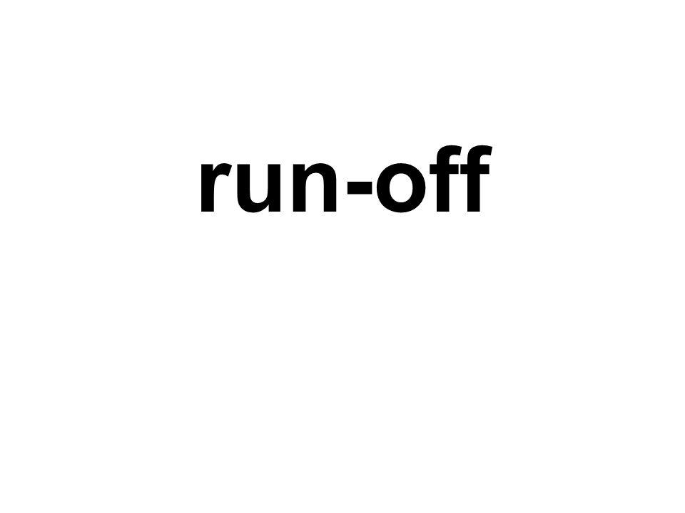 run-off