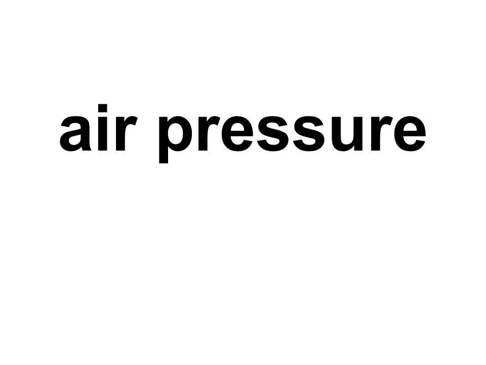 air pressure