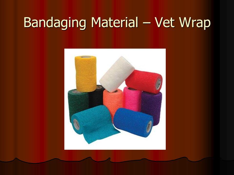 Bandaging Material – Vet Wrap
