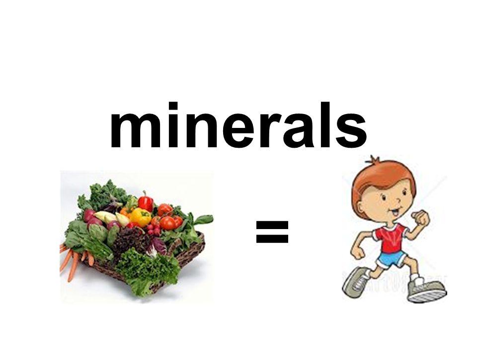 minerals =