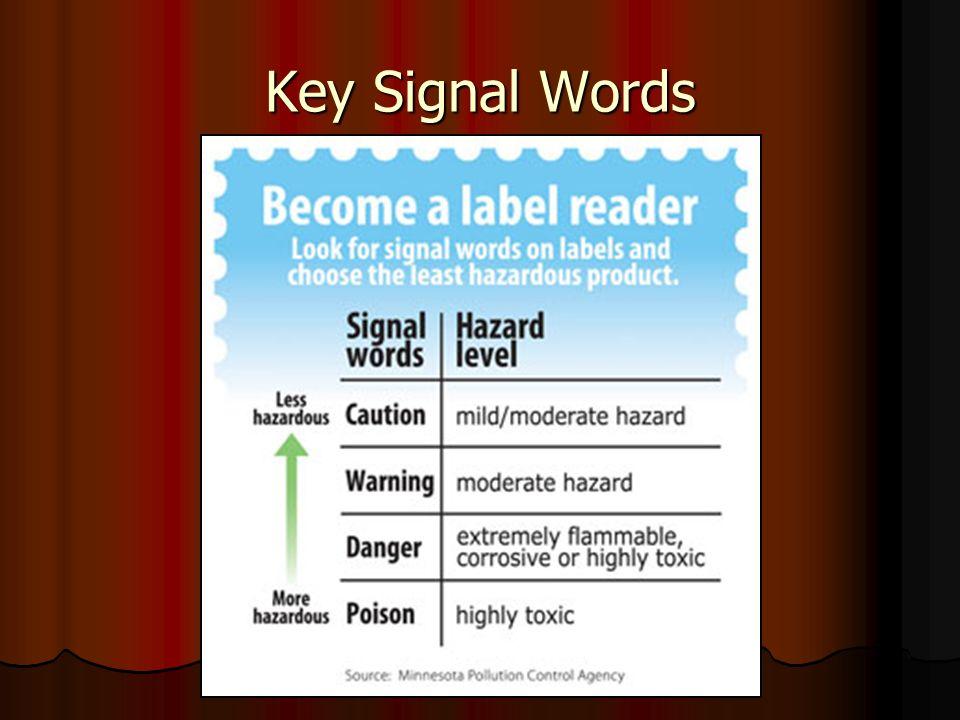 Key Signal Words