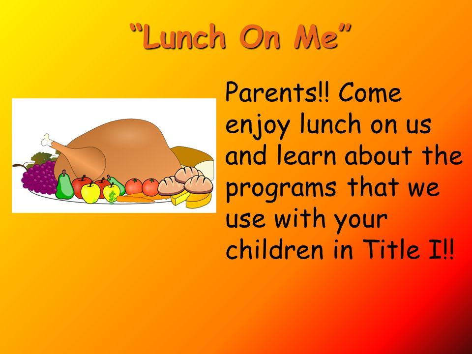 1. Parent Involvement Policy 2. Parent Involvement Activities 2. Parent Involvement Activities: